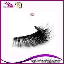 package false eyelashes 3D synthetic eyelash for sale