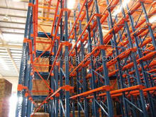 FIFO Storage Heavy Duty Drive-in Pallet Rack,Ajustable