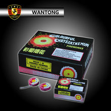 1.4g Colourful Chrysanthemum Spinner Fireworks / Fuegos artificiales Spinner