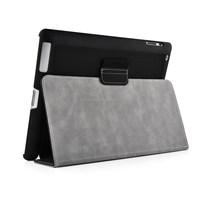 Black PU Leather Horizon Smart Flip Case Cover for Apple iPad 2/3/4