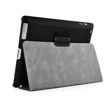 Black PU Leather Horizon Smart Flip Case Cover for Apple iPad 2/3/4