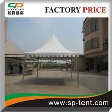 4mx4m novelty aluminum frame portable pagoda shape tent