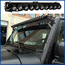 10w 20w 30w 40w 50w 60w 70w 80w 90w 100w 150w 200w 230w 260w DIY led light bar for atv suv utv motorcycle