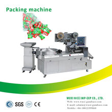full automatic chewing gum toffee hard candy lollipop pillow pack machinery