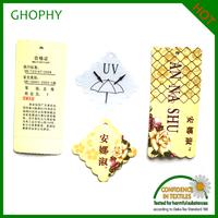 2016 China Custom Hang Tag And Label/ Wholesale Garment Hang Tags