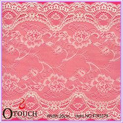 Romantic and beautiful bridal lace for wedding dress