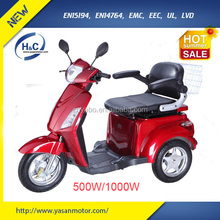 China hot sale heavy load electric disabled mobility scooter wholesale