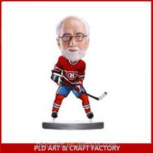 customized ice hockey bobblehead