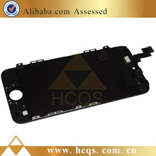 mobile lcd screen For iphone 5S glass front cover