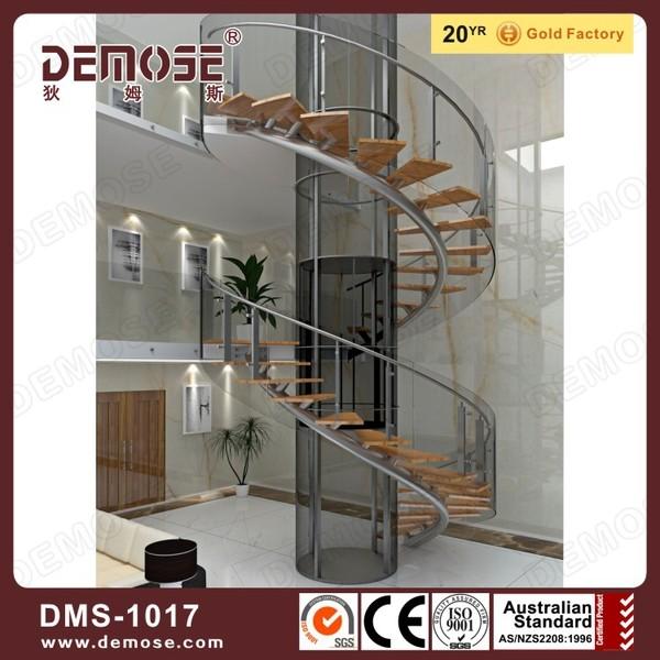 int rieur en m tal bande de roulement en bois escalier en. Black Bedroom Furniture Sets. Home Design Ideas