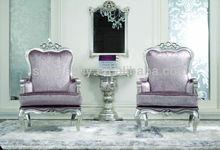 ホテルの家具/夢のようなアンティークベッドルームセット/yz-a7025読書用椅子ベッドルームのラウンジチェア