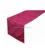 Popular Knitted Manufacturer Taffeta table runner Banquet Decoration