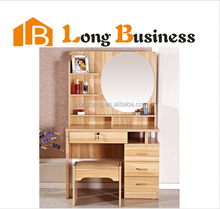 Wooden Home Furniture, Dress Table with Mirror