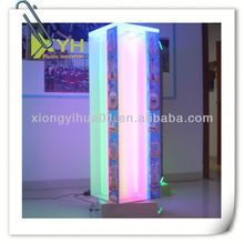 Rotating Acrylic advertising counter display