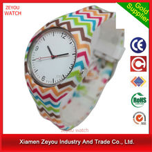 factory offer silicone watches own logo women fashion hand watch