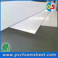 china white pvc foam sheet for outdoor sign display material 2mm