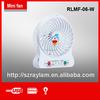 summer usb mini desk fan rechargeable emergency fan with light
