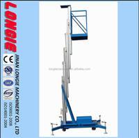 LISJL0.1-6 Aluminium hydraulic lift platform portable aerial lift China
