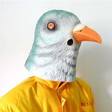 Garantia de comércio máquina máscara facial máscara de látex de pássaro máscara animais