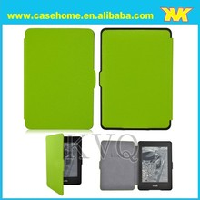 for Amazon kindle paperwhite smart cover ,crossing leather case