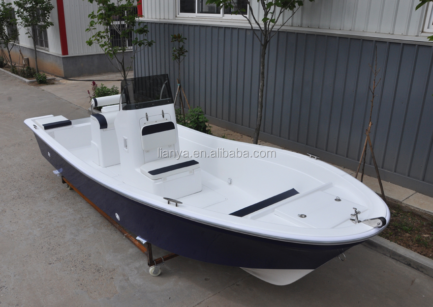Liya 5 1 small boats fiberglass speed fishing boat for Fishing pontoons for sale