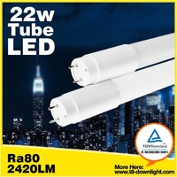 tuv ul qualified 150cm led tube light t8 22w 4500k warm color led tuebs