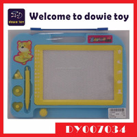 Learning Teaching Writing Drawing Tool Kids Magic Drawing Board Magnetic Seal Sketch Writing Board for Kids