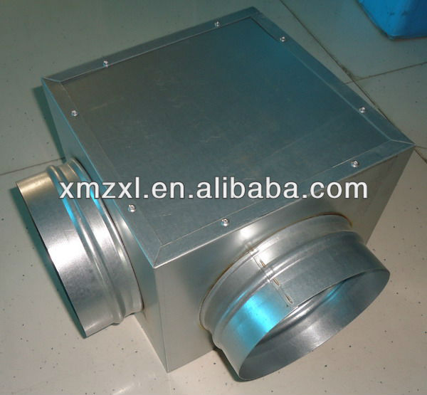 Hvac Duct And Fittings : Plenum box air duct fittings hvac systems buy