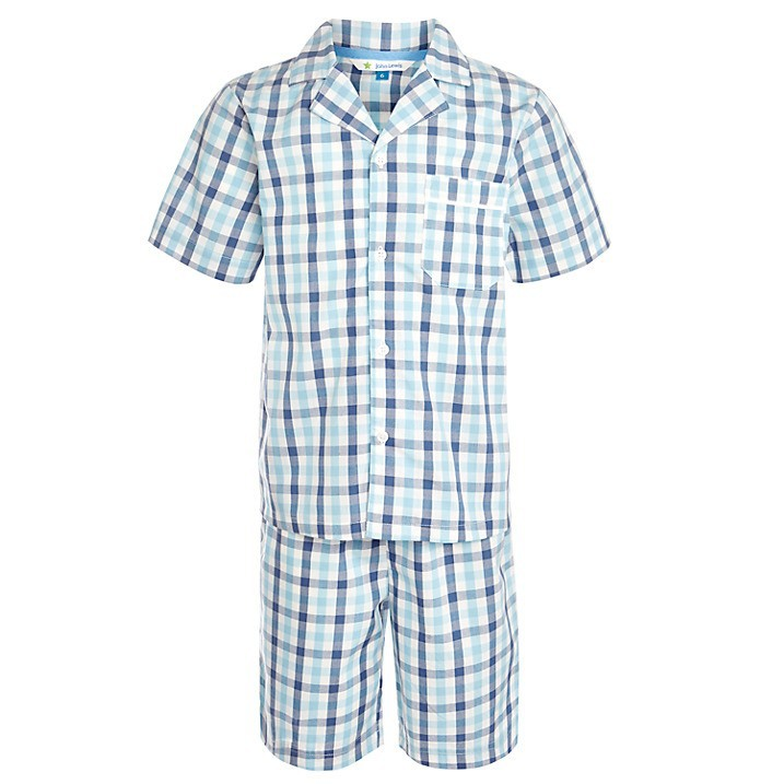 Types of Boy's Pajamas From classic button down flannel sets to thermal underwear, these pajamas are perfect for layering under pants and sweaters during frigid weather. Finding out what type of boys' pajamas your child feels comfortable in is the first step in ensuring his comfort year-round.