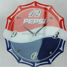 Hot selling special design acrylic wall clock for retailer