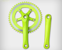 fixie bike chainwheel 700C bicycle chainring fixed gear bicycle spare parts