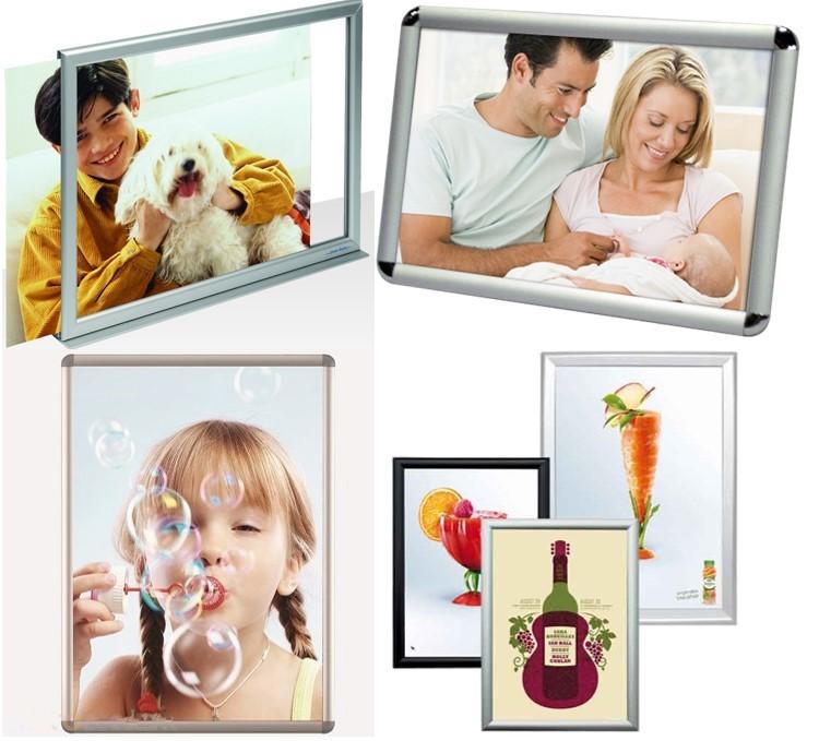 Tablero de anuncio Precio Barato de aluminio marcos de cuadros ...