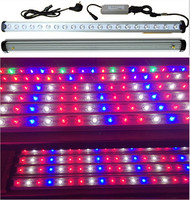 waterproof commercial greenhouse Plant Growth LED tube light 90cm 120cm full spectrum High PAR LED tube grow light