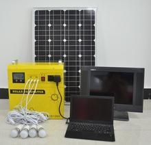 Fine workmanship 50w portable solar power of 110v or 220v