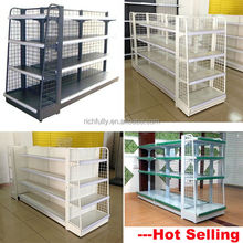 Top hot selling Chain Grocery Store Shelf, Mini Metal Wire Shelf, Used convenience store equipment