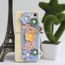 Hot chic and simple and fresh phone case for iphone5,5S, high quality silicone phone case OEM