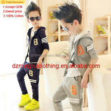 2015 Baby Clothing Boutique Summer Outfits with 2 piece boys clothing sets