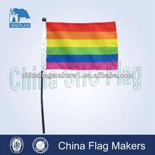 2014 New product/hand flag/mini hand flag/ custom hand flag