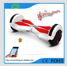 The second generation two wheel self balancing Smart electric Music scooter