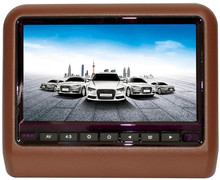 9 inch widescreen digital panel with led backlight detachable car headrest monitor