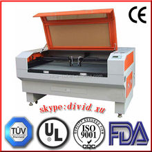 co2 laser engraving and cutting machine for cutting and carving double color plate
