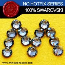 Genuine Swarovski Elements Silver Night (SINI) 16ss Flat Back Crystal No Hot Fix Rhinestone