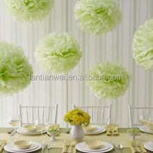 Wedding Decorations Colorful Tissue Paper Pom Poms/Party Decorate Paper Flower