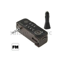 3.5mm Audio Cable FM: 88.1-107.9MHz Instructions Car mp3 Player FM Transmitter