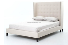 Upholstered Bed, Queen french style queen bed leather upholstered bed home furniture