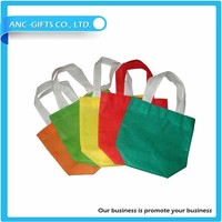 Wholesale promotional foldable non-woven shopping bag