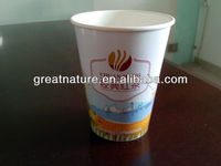 Disposable water paper cup