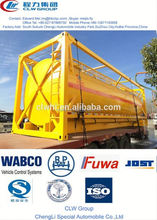 popular oil tank container,20 ft or 40 ft, mobile diesel fuel tank