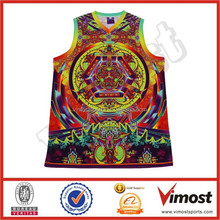 supplying custom sublimation basketball top jerseys 15-4-21-3