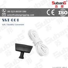Trade assurance durable nylon 8-strand rope 68mm